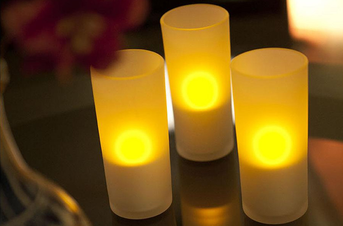 Imageo Glass Candlelights by Philips