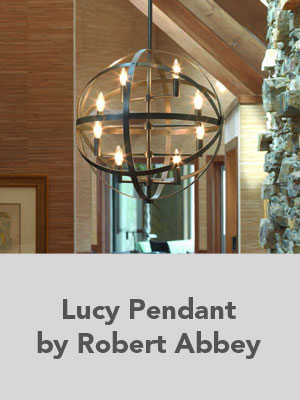 Lucy Pendant by Robert Abbey