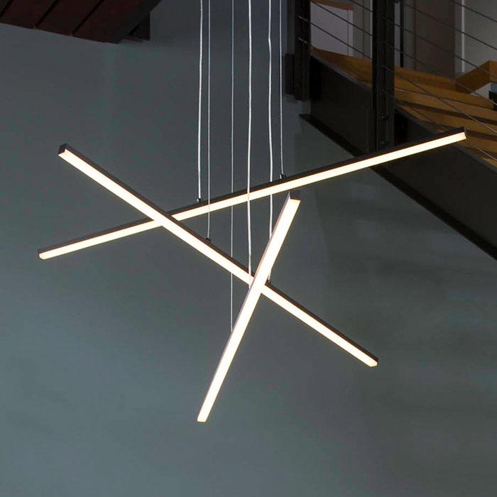 Stix LED Pendant by SONNEMAN Lighting.