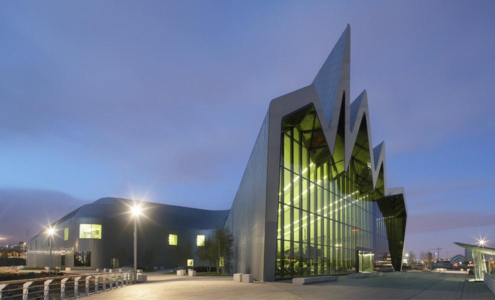 Riverside Museum of Transport, Glasgow, UK