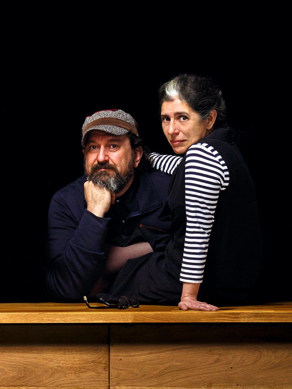 LZF founders Mariví Calvo and Sandro Tothill.