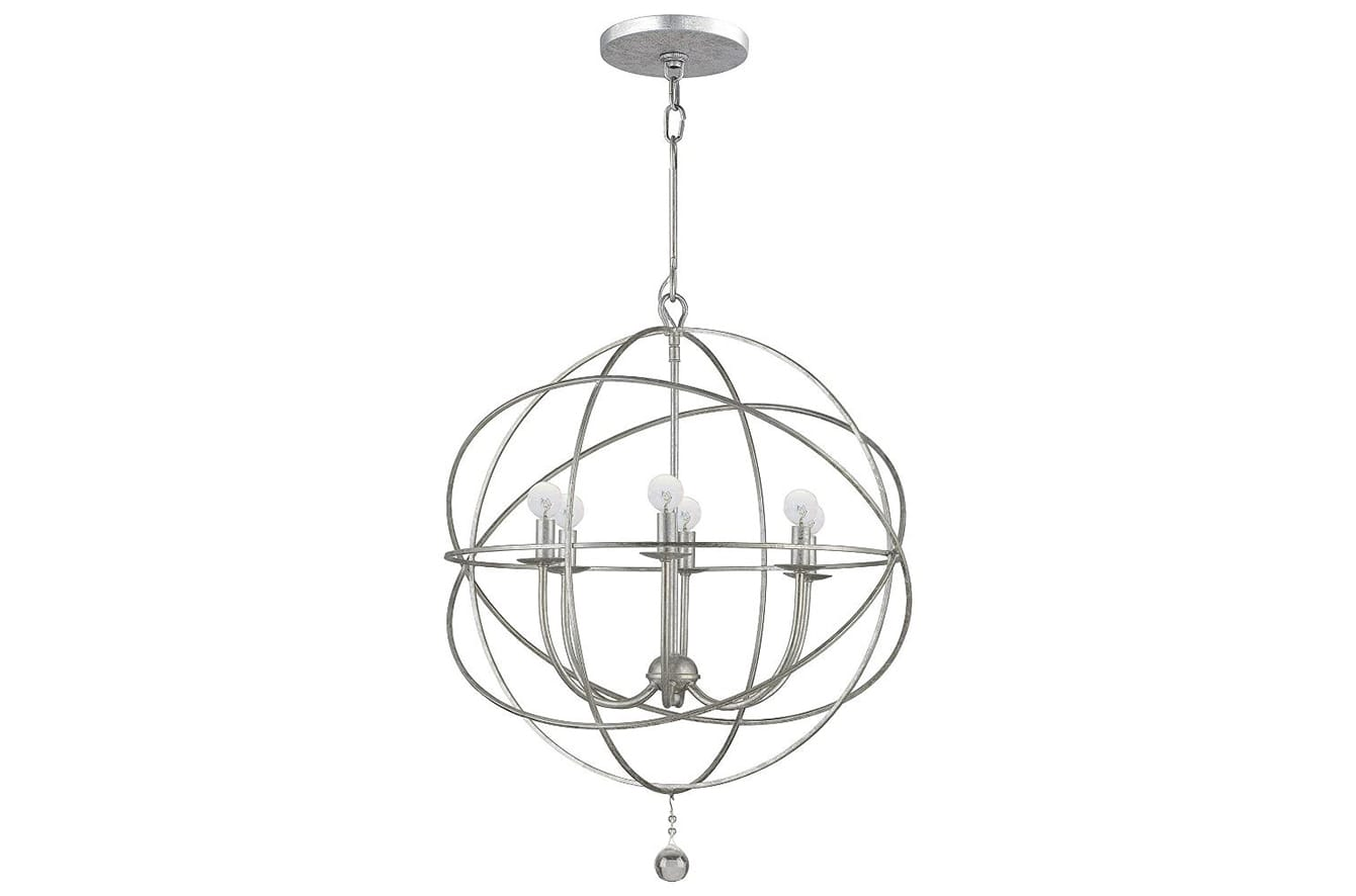 Solaris Chandelier by Crystorama