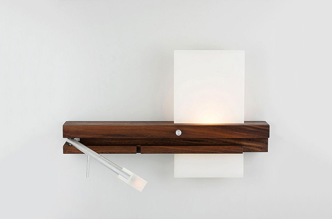 Levo LED Sconce / Reading Light by Nick Sheridan for Cerno