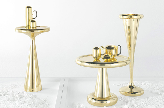 Spun Champagne Bucket By Tom Dixon