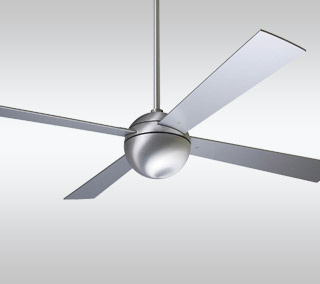 Ball Ceiling Fan with Optional Light
