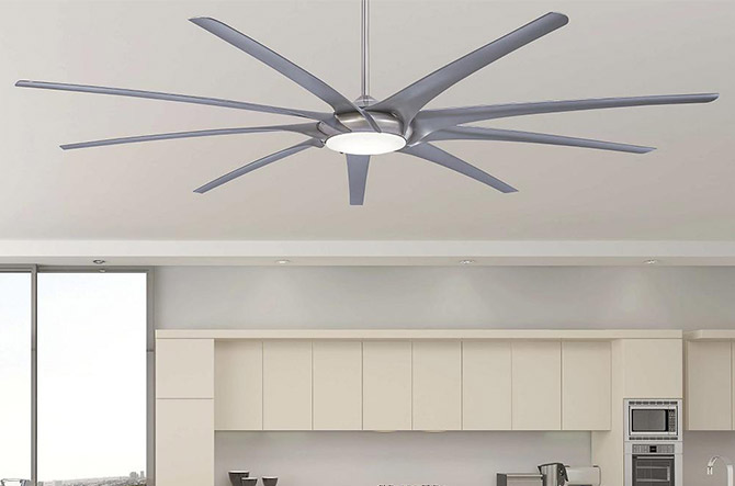 Ninety-nine LED Ceiling Fan by Minka Aire Fans