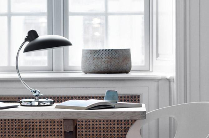 KAISER idell Luxus Table Lamp by Fritz Hansen