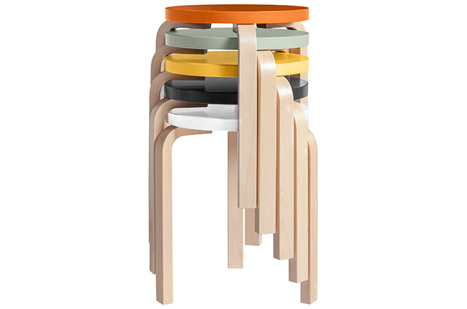 Stacked Stool 60