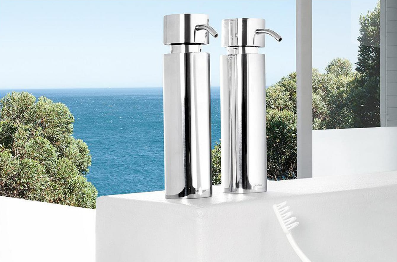 DUO Soap Dispenser by Blomus