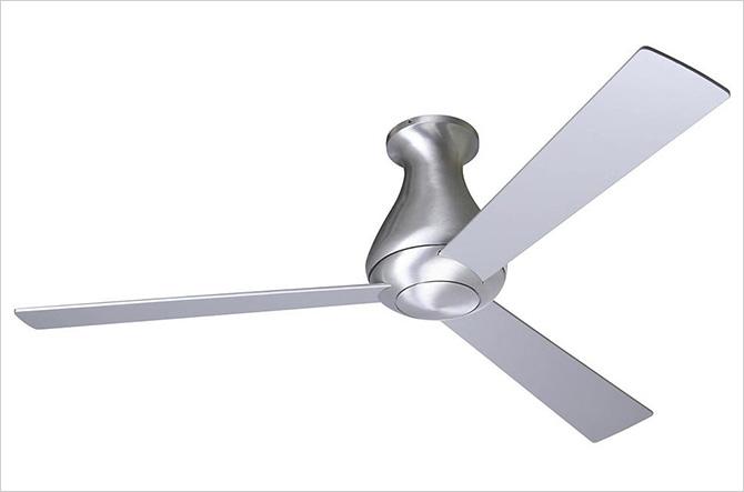 Altus Hugger Ceiling Fan with Optional Light by Modern Fan Company