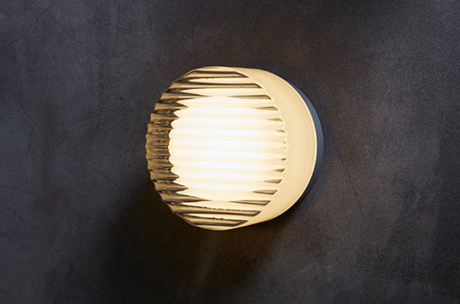 Crisp LED Indoor/Outdoor Ceiling/Wall Light by Rich Brilliant Willing