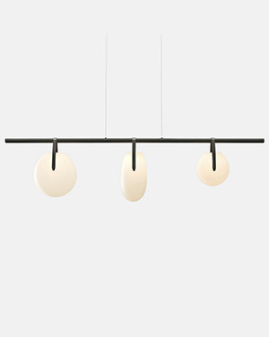 Gala 3-Light LED Chandelier