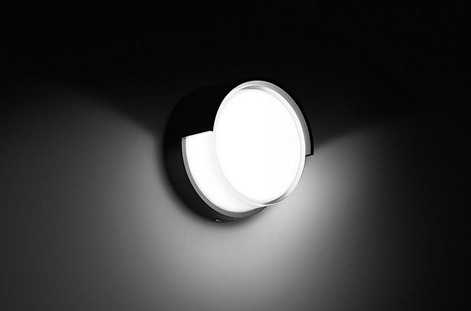 Impact Resistant LED Ceiling/Wall Light by Bega