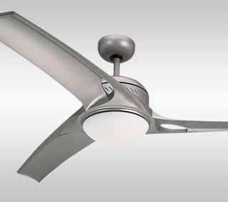 Mach One Ceiling Fan with Light by Monte Carlo Fans
