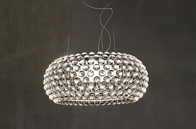 Caboche LED Suspension by Foscarini