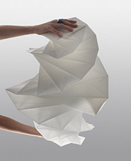 Unfolding Miyake's Mendori Table Lamp - Step 4