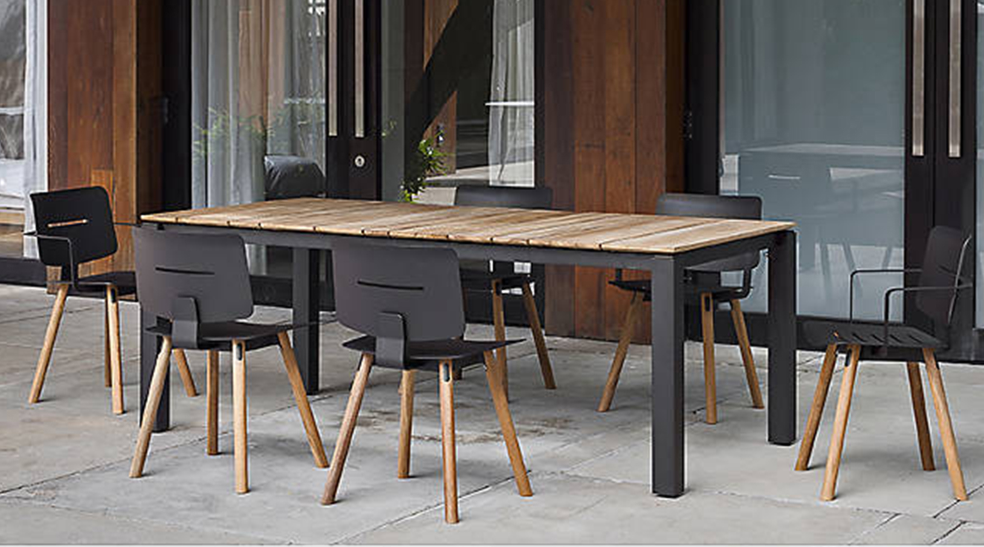 Coco Dining Chairs and Machar Dining Table by Oasiq