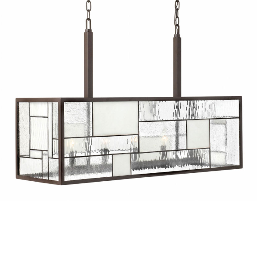 Mondrian Linear Suspension by Hinkley Lighting