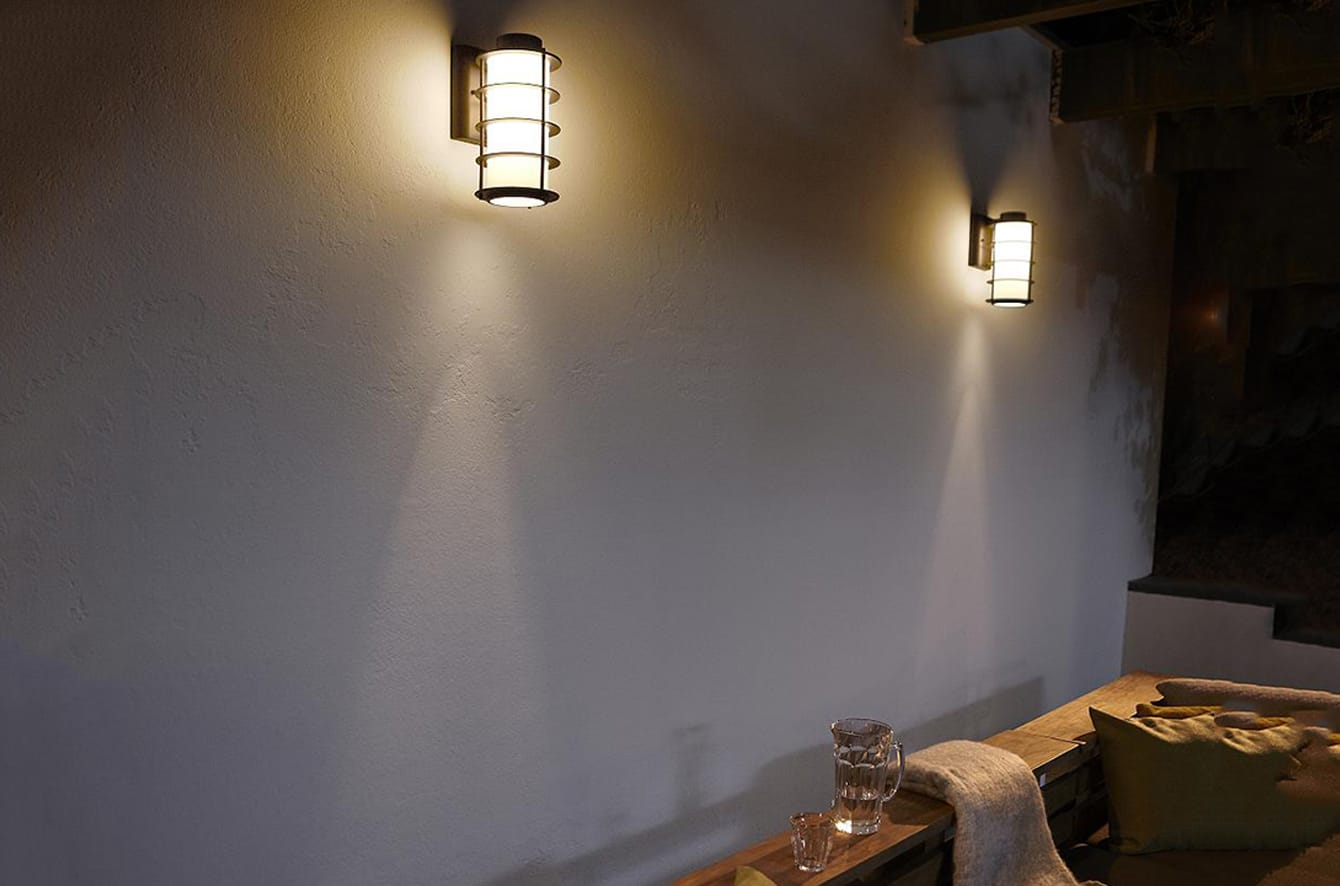 Hollywood Hills Outdoor Wall Sconce by Philips Forecast Lighting