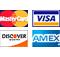 MasterCard Visa Discover Amex