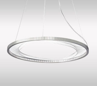 Interlace LED Suspension by LBL Lighting