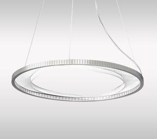 Interlace LED Suspension by LBL Lighting