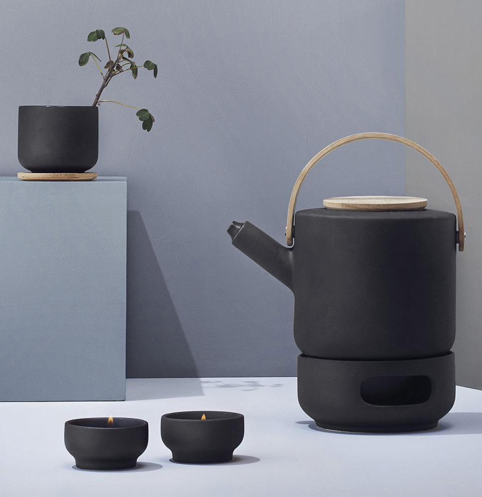 Theo Teapot Warmer by Francis Cayouette for Stelton