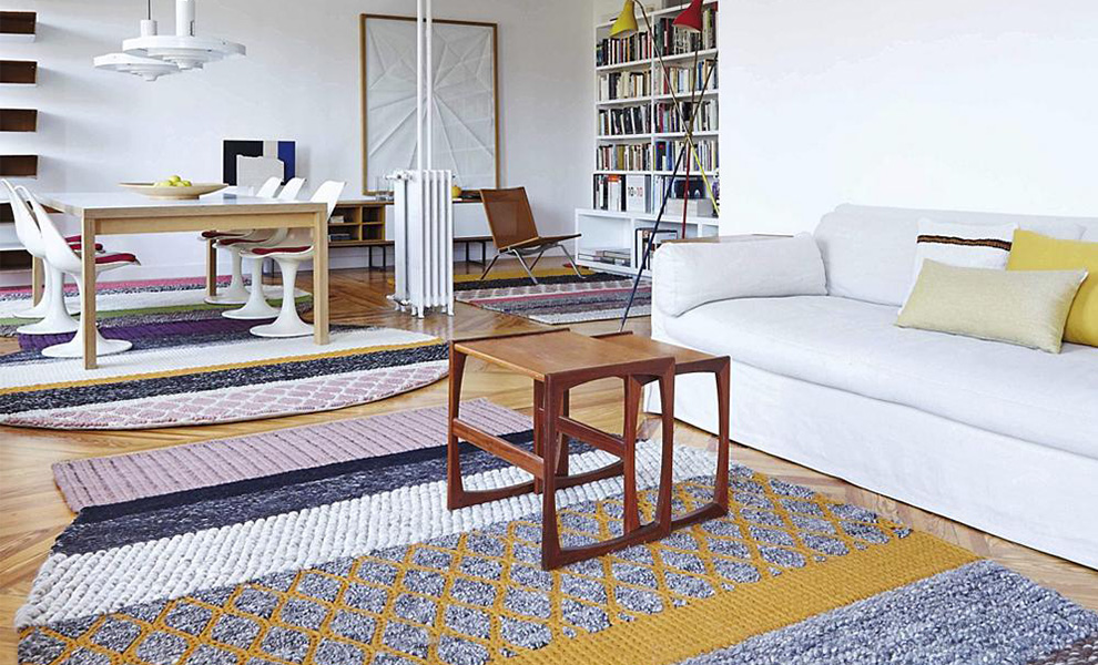 Mangas Original Space Collection by Patricia Urquiola for Gan Rugs