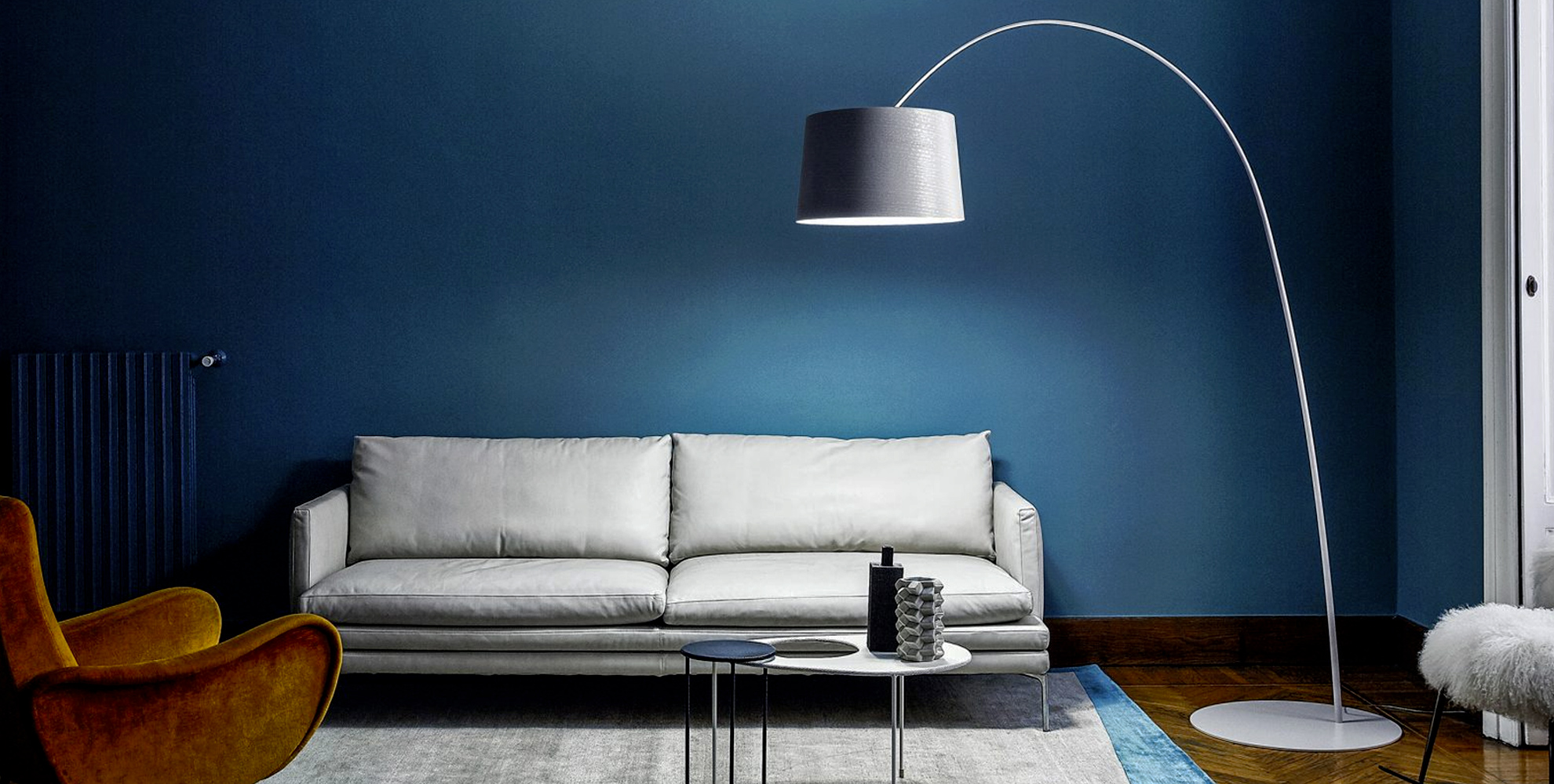 Twiggy Arc Floor Lamp by Foscarini