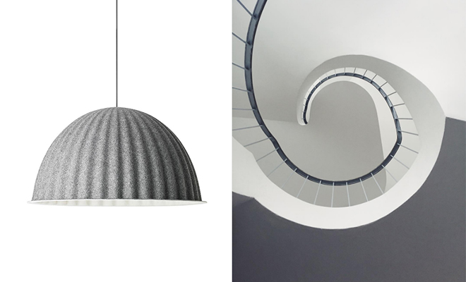 Under the Bell Pendant by Muuto
