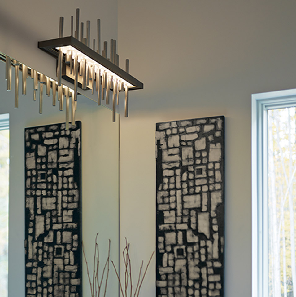 Cityscape LED Sconce by Hubbardton Forge
