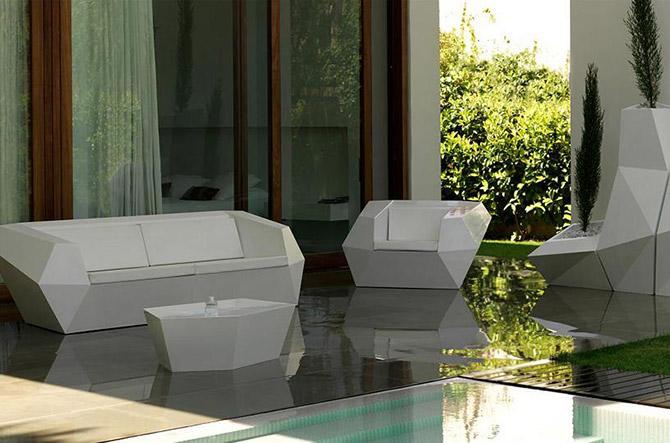 Faz Lounge Chair by Vondom