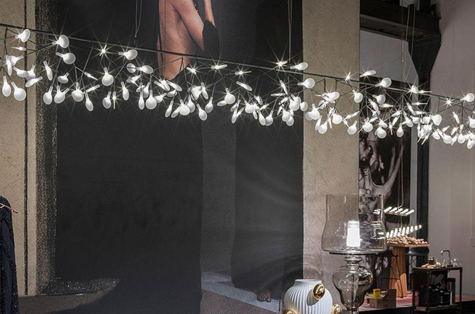 Heracleum Endless LED Suspension by Moooi