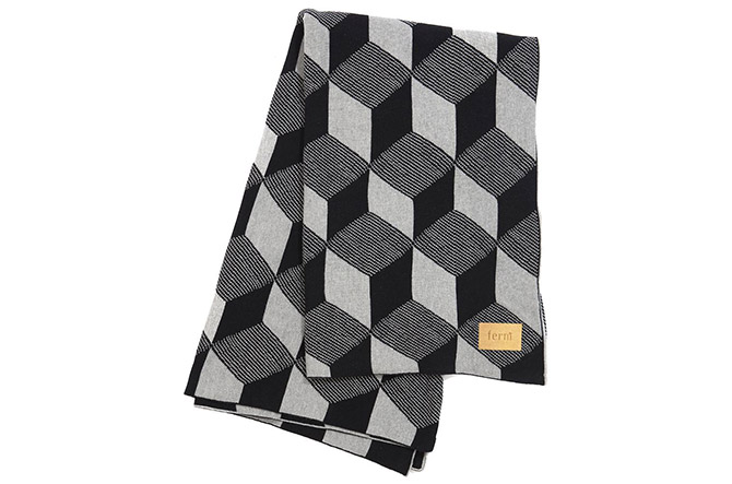 Squares Blanket by Ferm Living