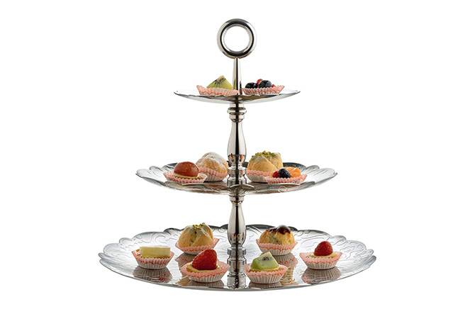 Dressed for X-Mas 3-Tier Cake Stand by Alessi