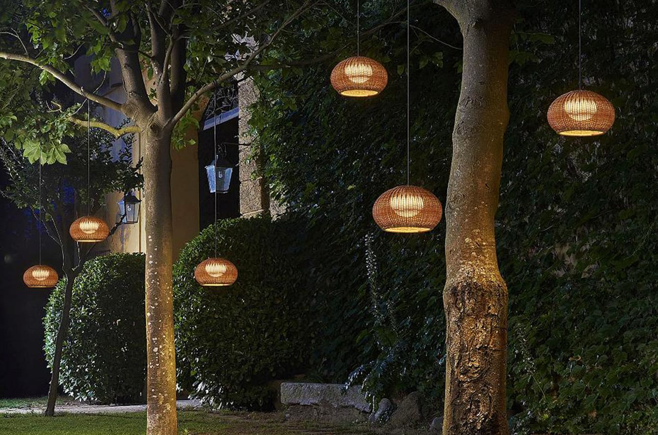 Garota Outdoor Plug-In LED Pendant by Bover