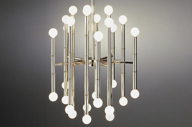 Meurice 30-Light Chandelier by Robert Abbey