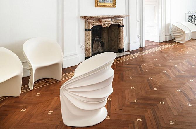 Modesty Veiled Chair by Driade