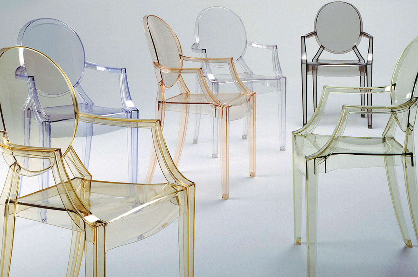 Louis Ghost Armchair by Kartell