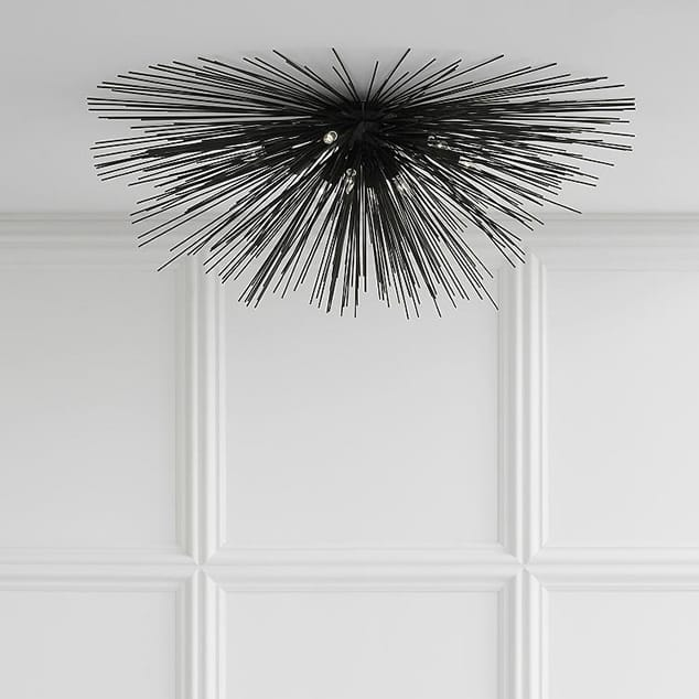 10 Flushmounts to Dress Up the Ceiling