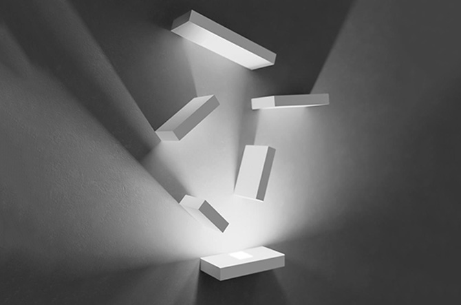 Set LED Wall Art by Xucla for Vibia