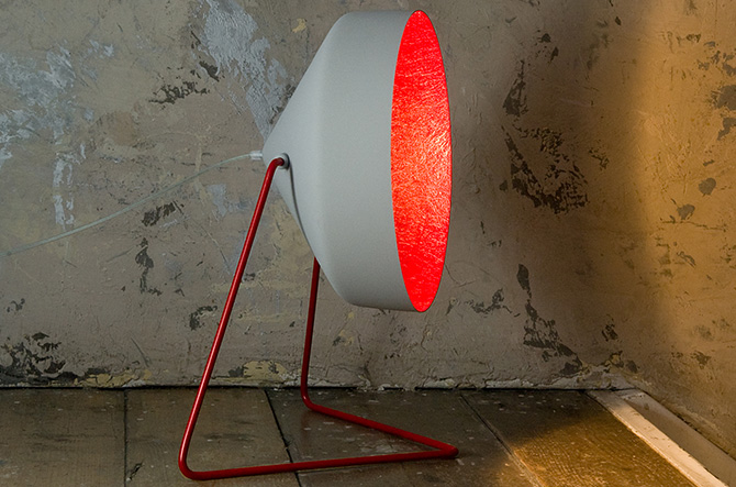 Cyrus Cemento Floor Lamp by In-Es Art Design