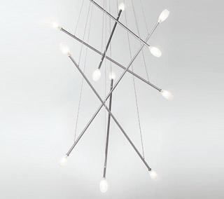 Batons Chandelier by LBL Lighting