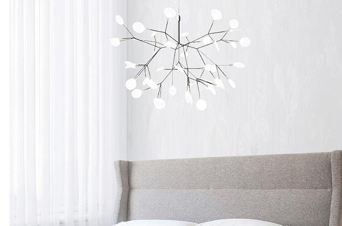 Heracleum II Small LED Chandelier by Moooi.