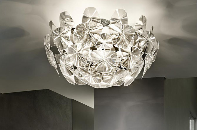 Hope Wall / Ceiling Light by Luceplan