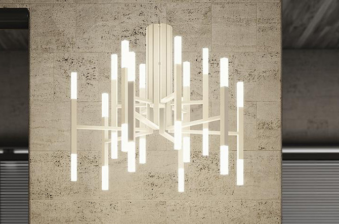 The Light LED Chandelier by Alma Light