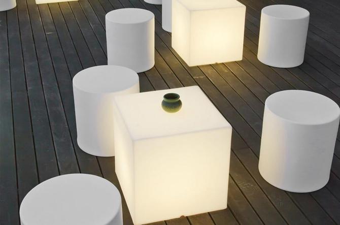 Kubbia Moderna XL LED Cube - Wireless by Artkalia