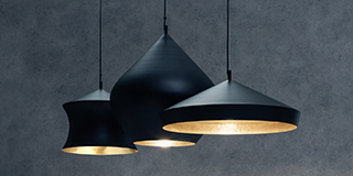 New Beat Lights by Tom Dixon