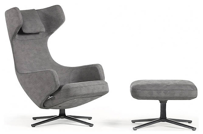 Grand Repos Lounge Chair by Vitra