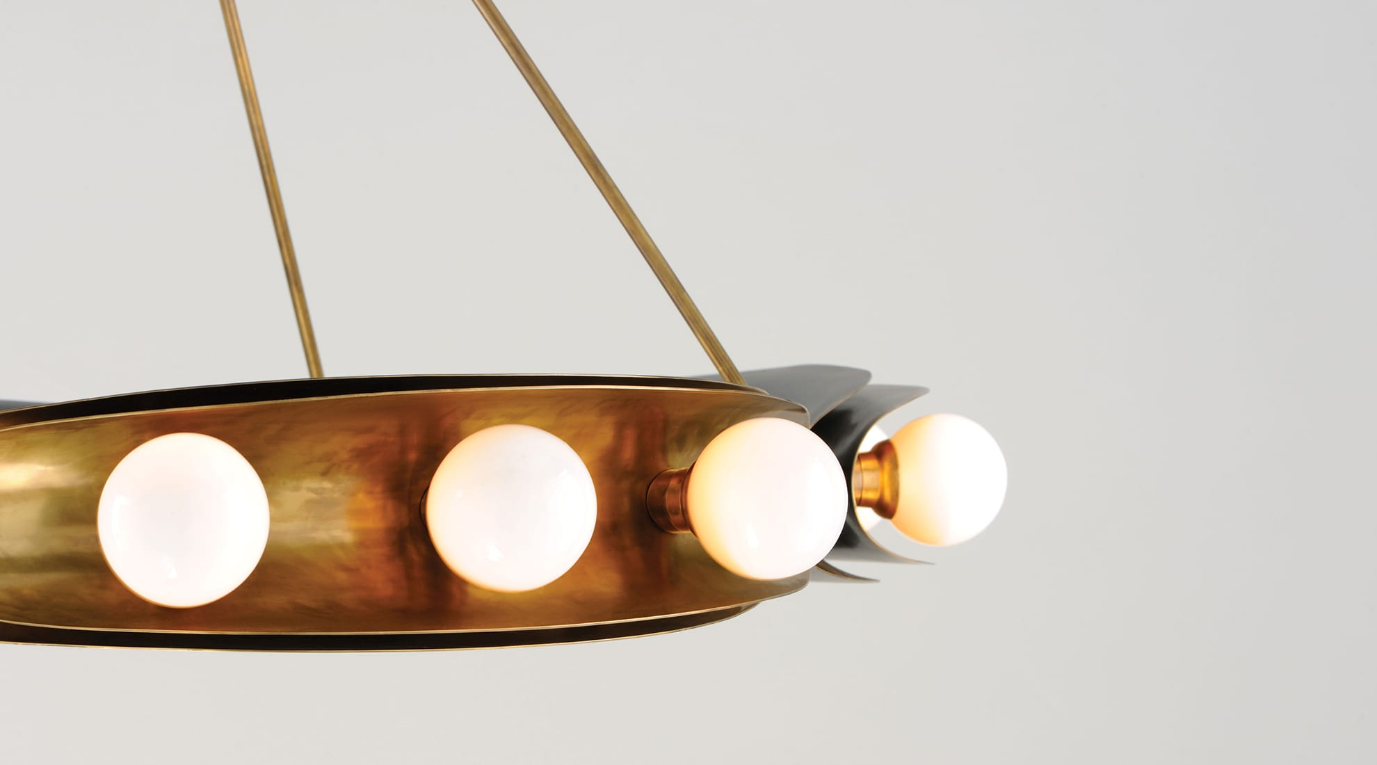Martyn Lawrence Bullard's Hopper Chandelier for Corbett Lighting